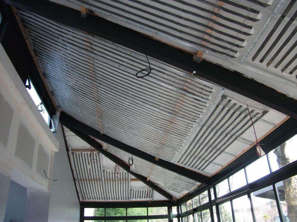 plafond chauffant rayonnant chauffage plafond thermalu. Black Bedroom Furniture Sets. Home Design Ideas